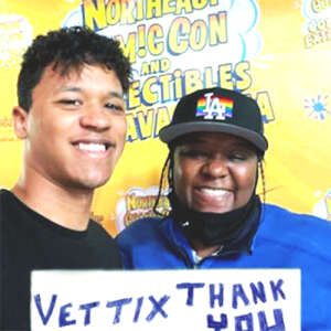 LSL attended NorthEast ComicCon - VIP on Jul 2nd 2021 via VetTix