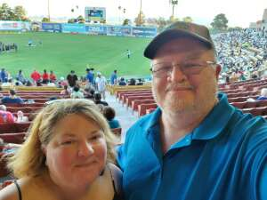 Eric and Alicia  attended Las Vegas Lights FC vs. Tacoma Defiance - USL on Jun 5th 2021 via VetTix