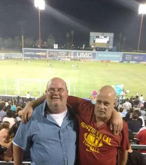 JE attended Las Vegas Lights FC vs. Tacoma Defiance - USL on Jun 5th 2021 via VetTix