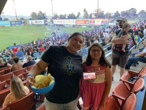 Claudia attended Las Vegas Lights FC vs. Tacoma Defiance - USL on Jun 5th 2021 via VetTix