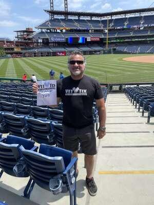 Harold attended Philadelphia Phillies vs. Atlanta Braves - MLB on Jun 10th 2021 via VetTix