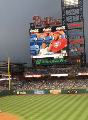 Kevin L attended Philadelphia Phillies vs. Atlanta Braves - MLB on Jun 10th 2021 via VetTix