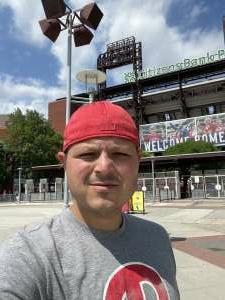 Joe B attended Philadelphia Phillies vs. Atlanta Braves - MLB on Jun 10th 2021 via VetTix