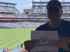 Scott attended Philadelphia Phillies vs. Atlanta Braves - MLB on Jun 10th 2021 via VetTix