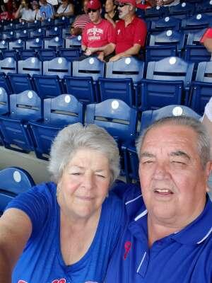 Bill  attended Philadelphia Phillies vs. Atlanta Braves - MLB on Jun 10th 2021 via VetTix