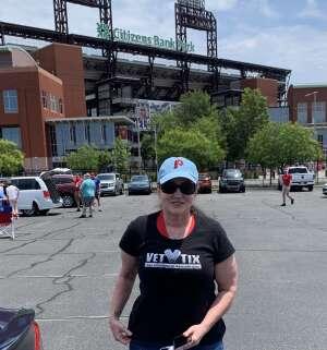 Stephanie attended Philadelphia Phillies vs. Atlanta Braves - MLB on Jun 10th 2021 via VetTix