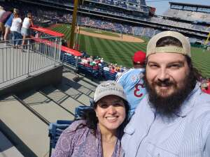 Kevin attended Philadelphia Phillies vs. Atlanta Braves - MLB on Jun 10th 2021 via VetTix