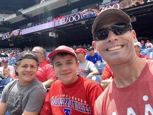 Shawn M. attended Philadelphia Phillies vs. Atlanta Braves - MLB on Jun 10th 2021 via VetTix