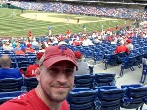 Pete attended Philadelphia Phillies vs. Atlanta Braves - MLB on Jun 10th 2021 via VetTix