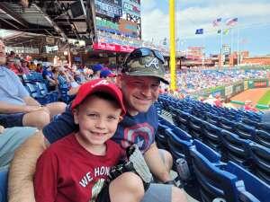 Devin attended Philadelphia Phillies vs. Atlanta Braves - MLB on Jun 10th 2021 via VetTix