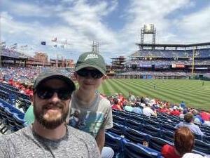 Jordan F attended Philadelphia Phillies vs. Atlanta Braves - MLB on Jun 10th 2021 via VetTix