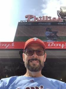 Glenn attended Philadelphia Phillies vs. Atlanta Braves - MLB on Jun 10th 2021 via VetTix
