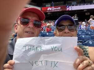 Lorry  attended Philadelphia Phillies vs. Atlanta Braves - MLB on Jun 10th 2021 via VetTix