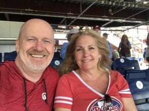 Bob  attended Philadelphia Phillies vs. Atlanta Braves - MLB on Jun 10th 2021 via VetTix