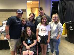 Mike Gerber attended Iowa Barnstormers vs. Sioux Falls Storm - IFL - Military Appreciation Day Game on Jun 19th 2021 via VetTix