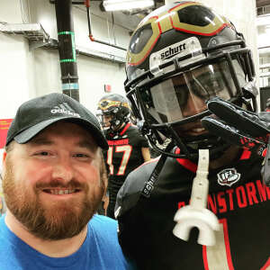 Tony Anderson attended Iowa Barnstormers vs. Sioux Falls Storm - IFL - Military Appreciation Day Game on Jun 19th 2021 via VetTix