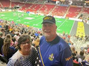 Chuck Boscaljon attended Iowa Barnstormers vs. Sioux Falls Storm - IFL - Military Appreciation Day Game on Jun 19th 2021 via VetTix