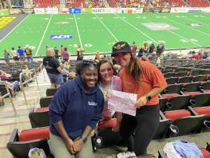 Click To Read More Feedback from Iowa Barnstormers vs. Sioux Falls Storm - IFL - Military Appreciation Day Game