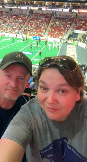Kenneth Beaudet attended Iowa Barnstormers vs. Sioux Falls Storm - IFL - Military Appreciation Day Game on Jun 19th 2021 via VetTix