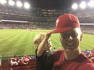 Stewart attended Washington Nationals vs. San Francisco Giants - MLB on Jun 10th 2021 via VetTix