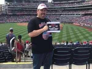 Randy attended Washington Nationals vs. San Francisco Giants - MLB on Jun 10th 2021 via VetTix