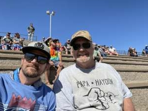 Robert Rusticus attended Toyota Save Mart 350 - NASCAR Cup Series on Jun 6th 2021 via VetTix