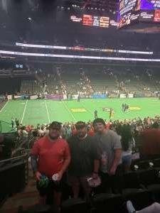 Jeff attended Arizona Rattlers vs. Tucson Sugar Skulls - IFL on Jun 12th 2021 via VetTix