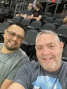 Brian Brown attended Arizona Rattlers vs. Tucson Sugar Skulls on Jun 12th 2021 via VetTix