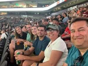 Jen attended Arizona Rattlers vs. Tucson Sugar Skulls on Jun 12th 2021 via VetTix