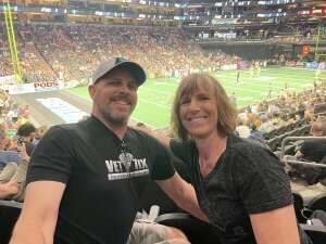 Richard Hale attended Arizona Rattlers vs. Tucson Sugar Skulls on Jun 12th 2021 via VetTix