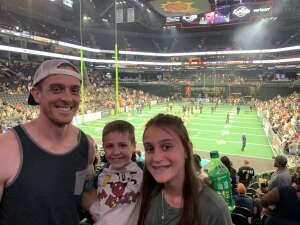 Jason attended Arizona Rattlers vs. Tucson Sugar Skulls on Jun 12th 2021 via VetTix