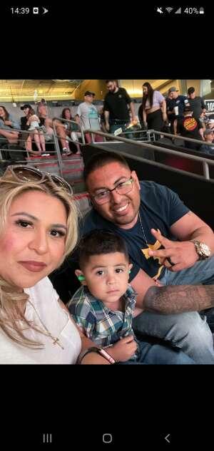 Figueroa attended Arizona Rattlers vs. Tucson Sugar Skulls on Jun 12th 2021 via VetTix