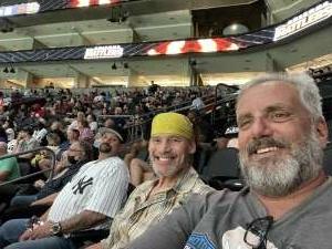 Dave attended Arizona Rattlers vs. Tucson Sugar Skulls on Jun 12th 2021 via VetTix