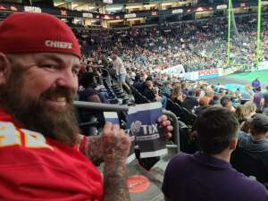 "David ""DOODLE""  attended Arizona Rattlers vs. Tucson Sugar Skulls - IFL on Jun 12th 2021 via VetTix"
