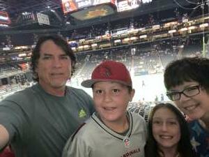 Richard attended Arizona Rattlers vs. Tucson Sugar Skulls on Jun 12th 2021 via VetTix