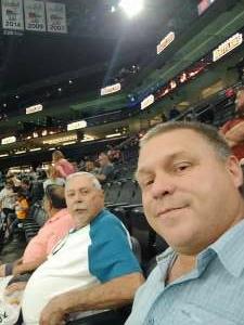 Mark attended Arizona Rattlers vs. Tucson Sugar Skulls on Jun 12th 2021 via VetTix