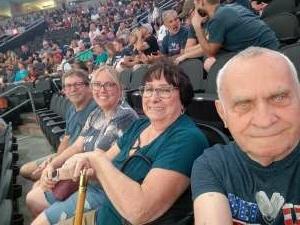 Jimmy attended Arizona Rattlers vs. Tucson Sugar Skulls on Jun 12th 2021 via VetTix