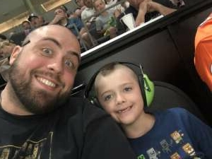Chris attended Arizona Rattlers vs. Tucson Sugar Skulls on Jun 12th 2021 via VetTix