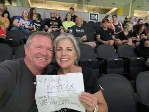 Submarine Tom attended Arizona Rattlers vs. Tucson Sugar Skulls on Jun 12th 2021 via VetTix