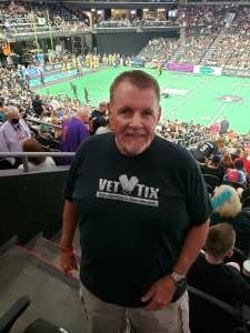 DJ attended Arizona Rattlers vs. Tucson Sugar Skulls on Jun 12th 2021 via VetTix