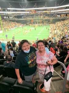Janice attended Arizona Rattlers vs. Tucson Sugar Skulls on Jun 12th 2021 via VetTix