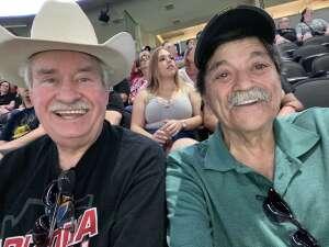 Conrad attended Arizona Rattlers vs. Tucson Sugar Skulls on Jun 12th 2021 via VetTix