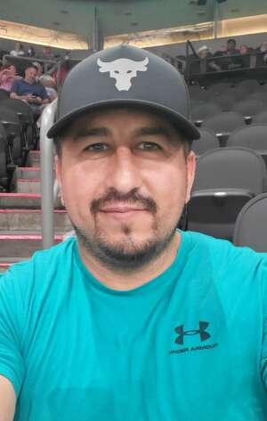 Ron Valdez attended Arizona Rattlers vs. Tucson Sugar Skulls on Jun 12th 2021 via VetTix