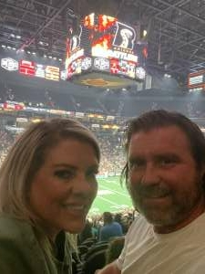 Jeff attended Arizona Rattlers vs. Tucson Sugar Skulls on Jun 12th 2021 via VetTix