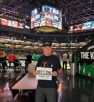 Bob attended Arizona Rattlers vs. Tucson Sugar Skulls on Jun 12th 2021 via VetTix