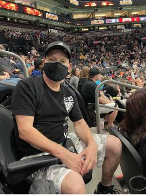 Randy attended Arizona Rattlers vs. Tucson Sugar Skulls on Jun 12th 2021 via VetTix