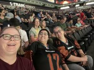 Adrianne attended Arizona Rattlers vs. Tucson Sugar Skulls on Jun 12th 2021 via VetTix