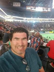 AZ RATTLERS  GAME attended Arizona Rattlers vs. Tucson Sugar Skulls on Jun 12th 2021 via VetTix