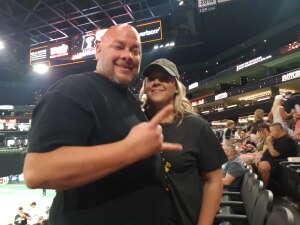 Danny attended Arizona Rattlers vs. Tucson Sugar Skulls on Jun 12th 2021 via VetTix