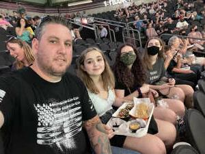 Derek Miller attended Arizona Rattlers vs. Tucson Sugar Skulls on Jun 12th 2021 via VetTix